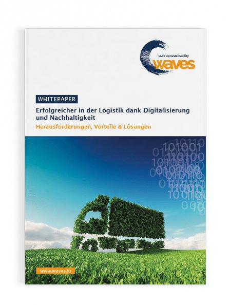Whitpaper: Erfolgreich in der Logistik dank Digitalisierung und Nachhaltigkeit Cover